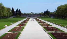 minnes- park för ingång till Royaltyfri Bild