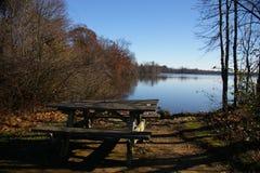 minnes- parktillstånd för lake Royaltyfri Bild
