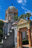 Minnes- presbyterianska kyrkanSt Augustine Florida Side View Arkivfoto