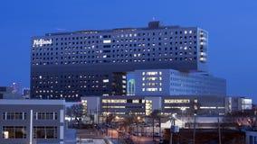 Minnes- sjukhus för Parkland, Dallas, Texas royaltyfria foton