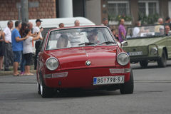 Minnes- springa för bil Arkivbilder