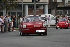 Minnes- springa för bil Arkivbild