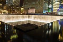 Minnes- springbrunn, World Trade Center Arkivbilder