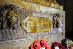 Minnes- sten Hall av minnet Birmingham Royaltyfria Foton