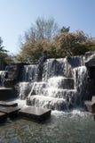 Minnes- vattenfall för FDR i DC royaltyfri foto