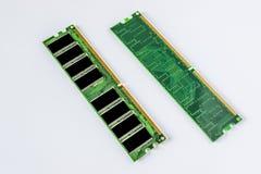 Minnesenhet för DDR RAM Arkivfoto