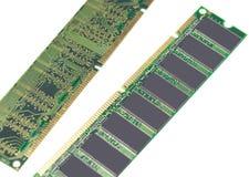Minnesenhet för DDR RAM Arkivbilder