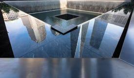 Minnesmärke 9 11 2001 Arkivfoton