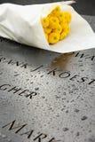9/11 minnesmärke Royaltyfri Fotografi