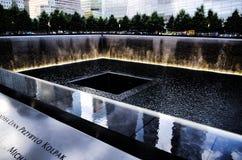 minnesmärke 9 11 Royaltyfri Foto