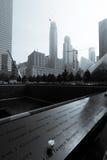 Minnesmärke 9 11 2001 Arkivbild