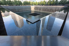 Minnesmärke 9 11 2001 Royaltyfria Bilder