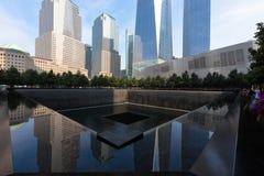 Minnesmärke 9 11 2001 Royaltyfri Foto