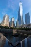 Minnesmärke 9 11 2001 Royaltyfri Fotografi