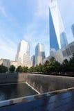 Minnesmärke 9 11 2001 Royaltyfri Bild