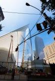 Minnesmärke 11 9 2001 Arkivbilder