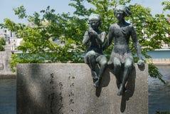 Minnesmärke av Miekichi Suzuki Arkivfoton