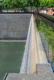 Minnesmärke av 11 September i New York Arkivfoton