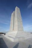 Minnesmärke av Vimy i Frankrike Arkivbild