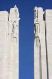 Minnesmärke av Vimy i Frankrike Royaltyfri Foto