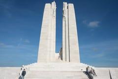 Minnesmärke av Vimy i Frankrike Royaltyfri Fotografi
