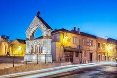 Minnesmärke de Odivelas, Portugal Royaltyfria Foton