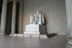 minnesmärke för 2 Abraham Lincoln Arkivbilder