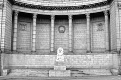Minnesmärke för Aberdeen stadskrig Royaltyfri Bild