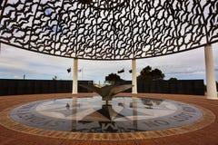 Minnesmärke för HMAS Sydney 2, Geraldton Royaltyfria Bilder