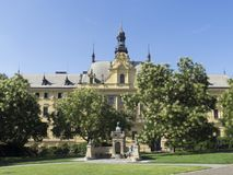 Minnesmärke för lek för ¡ för VÃtÄ› zslav HÃ, Prague Arkivfoton