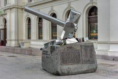 Minnesmärke för Oslo världskrig 2 royaltyfria bilder