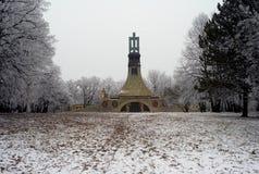 Minnesmärke för striden av Austerlitz, Tjeckien arkivfoton
