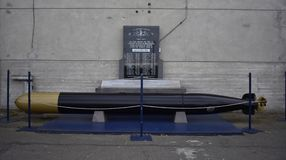 Minnesmärke för ubåt för världskrig två, San Francisco fotografering för bildbyråer