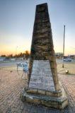 Minnesmärke för världskrig I - Ermelo, Sydafrika royaltyfri foto
