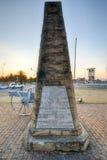 Minnesmärke för världskrig I - Ermelo, Sydafrika royaltyfria foton