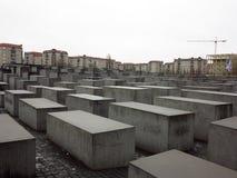Minnesmärke i berlin, Tyskland Arkivbilder