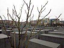 Minnesmärke i berlin, Tyskland Royaltyfria Foton
