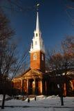 Minnesmärke kyrkliga Harvard Royaltyfri Fotografi