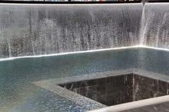 minnesmärke New York springbrunn hedrat Royaltyfri Fotografi