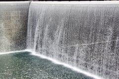 minnesmärke 9 11 New York springbrunn hedrat Royaltyfri Foto