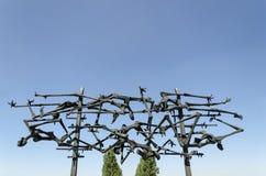 Minnesmärke på Dachau royaltyfri bild