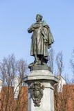Minnesmärke till Adam Mickiewicz Royaltyfri Bild