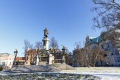 Minnesmärke till Adam Mickiewicz Royaltyfria Bilder