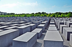 Minnesmärke till de mördade judarna av Europa #2 Arkivbilder