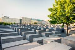 Minnesmärke till de mördade judarna av Europa, Berlin Arkivbilder