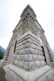 Minnesmärke till de stupade soldaterna i världskrig I med ossuaryen Royaltyfria Bilder