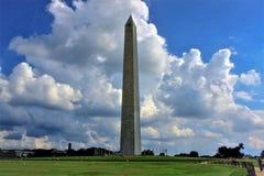 Minnesmärke till George Washington fotografering för bildbyråer