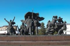 Minnesmärke till hjältarna av revolutionen av 1905 år Fotografering för Bildbyråer