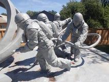 Minnesmärke till nöd- arbetare, Tjernobyl Royaltyfri Fotografi