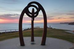 Minnesmärke till offer av Bali som bombarderar Coogee Australien Royaltyfri Foto
